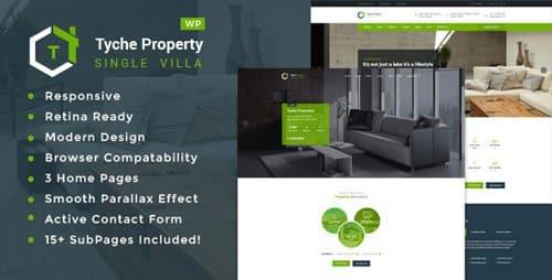 Tema Tyche Properties - Template WordPress