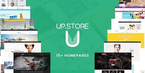Tema UpStore - Template WordPress