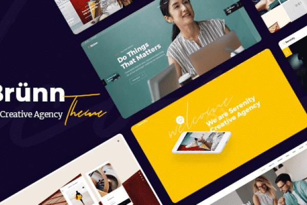 Tema Brunn - Template WordPress