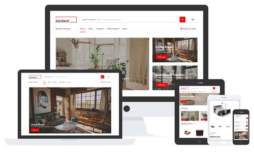 Tema Decorist - Template WordPress