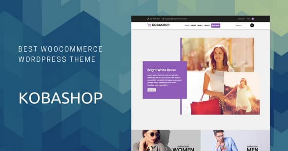 Tema Kobashop - Template WordPress