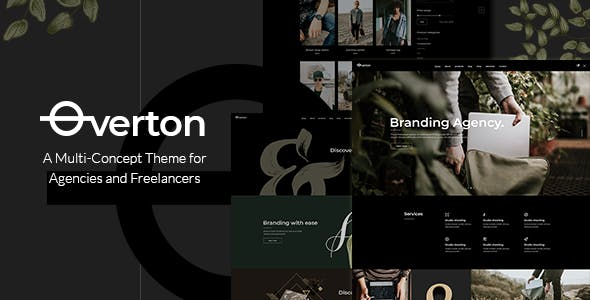 Tema Overton - Template WordPress