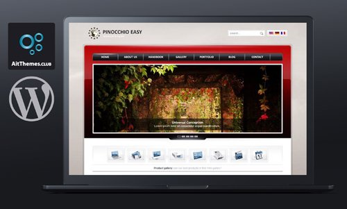 Tema Pinocchio - Template WordPress