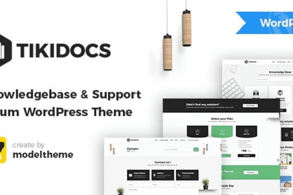 Tema Tikidocs - Template WordPress