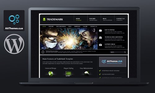 Tema Trademark - Template WordPress