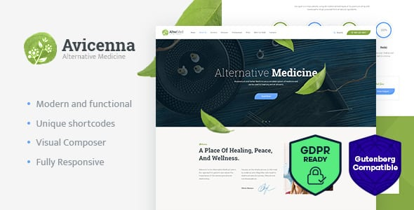 Tema Avicenna - Template WordPress