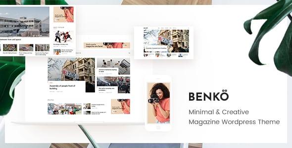 Tema Benko - Template WordPress