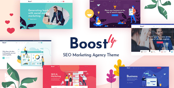 Tema BoostUp - Template WordPress