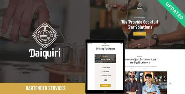 Tema Daiquiri - Template WordPress