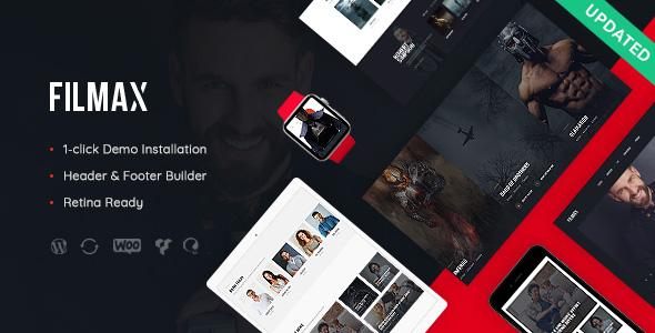 Tema Filmax - Template WordPress