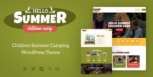 Tema Hello Summer - Template WordPress
