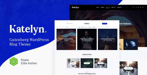 Tema Katelyn - Template WordPress