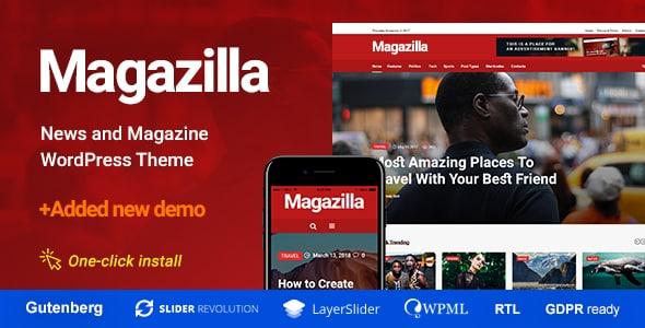 Tema Magazilla - Template WordPress