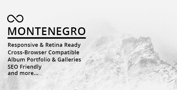 Tema Montenegro - Template WordPress