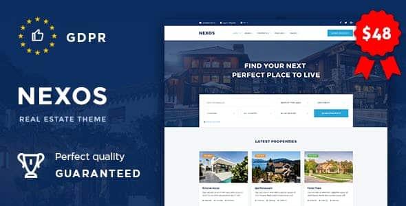 Tema Nexos - Template WordPress