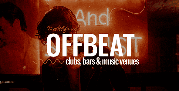Tema Offbeat - Template WordPress