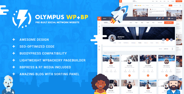 Tema Olympus - Template WordPress