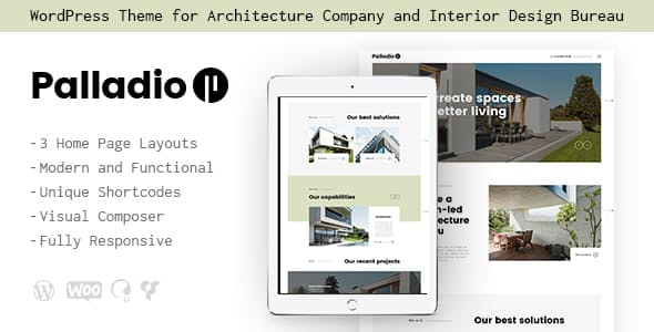 Tema Palladio - Template WordPress