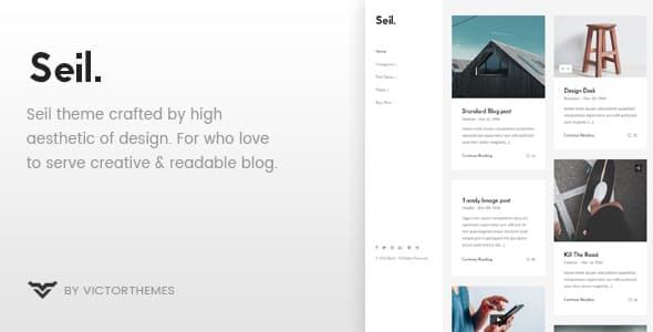 Tema Seil - Template WordPress