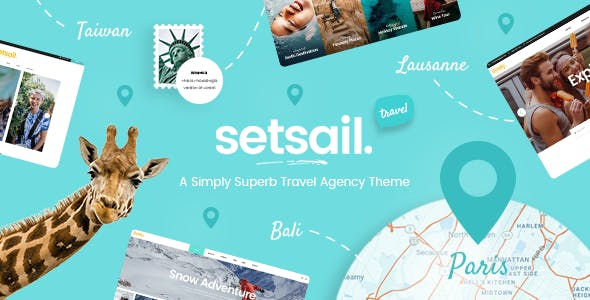Tema Setsail - Template WordPress