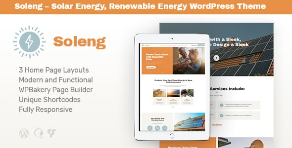 Tema Soleng - Template WordPress