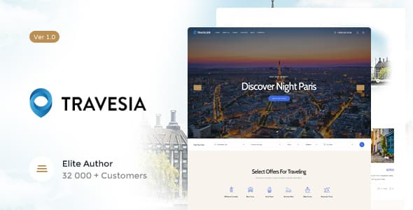 Tema Travesia - Template WordPress