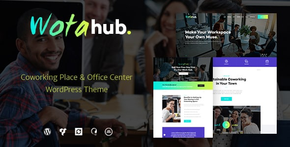 Tema WotaHub - Template WordPress