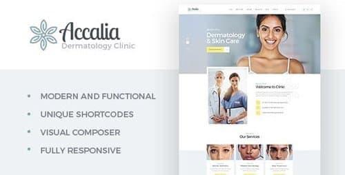 Tema Accalia - Template WordPress