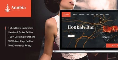Tema Anubia - Template WordPress