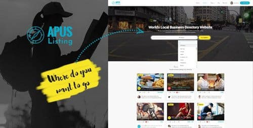 Tema Apuslisting - Template WordPress