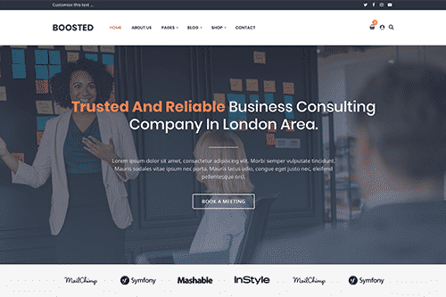 Tema Boosted - Template WordPress