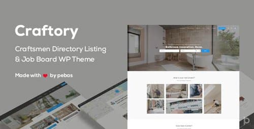 Tema Craftory - Template WordPress