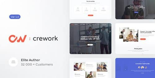 Tema Crework - Template WordPress