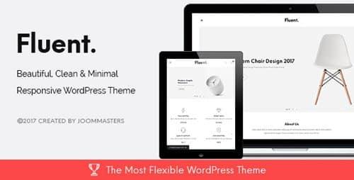 Tema Fluent - Template WordPress