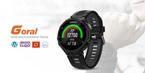 Tema Goral Smartwatch - Template WordPress