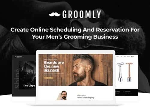 Tema Groomly - Template WordPress