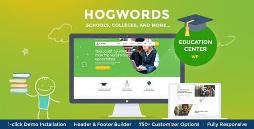 Tema Hogwords - Template WordPress