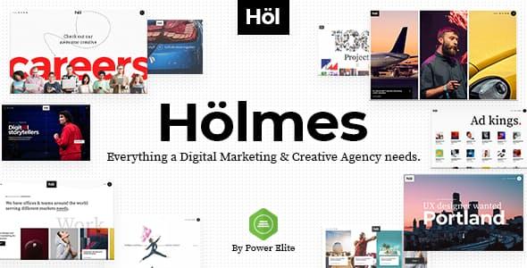 Tema Holmes - Template WordPress