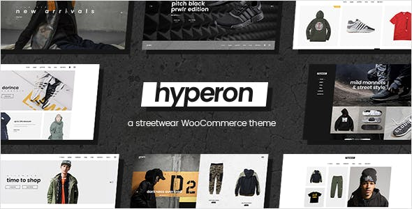 Tema Hyperon - Template WordPress