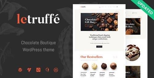 Tema Le Truffe - Template WordPress