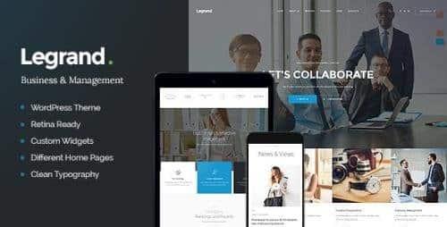 Tema Legrand - Template WordPress