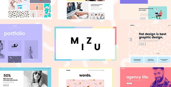 Tema Mizu - Template WordPress