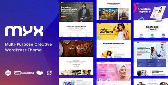 Tema Myx - Template WordPress