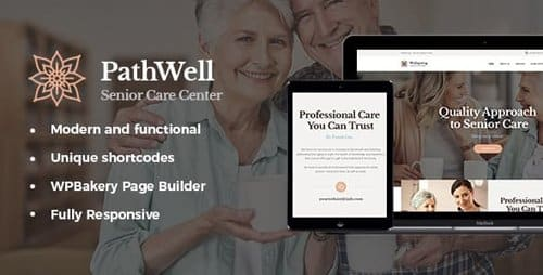 Tema Pathwell - Template WordPress