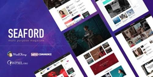 Tema Seaford - Template WordPress