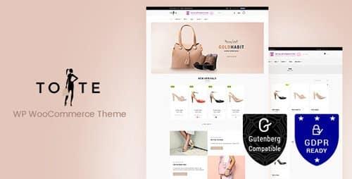 Tema Tote - Template WordPress
