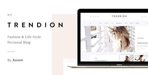 Tema Trendion - Template WordPress