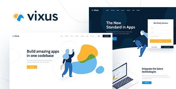 Tema Vixus - Template WordPress