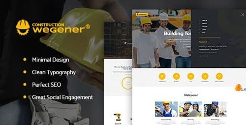 Tema Wegener - Template WordPress