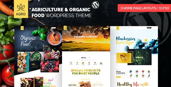 Tema Agro - Template WordPress
